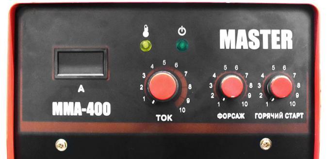 Инвертор MMA-400 МАСТЕР (K)