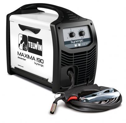 Сварочный полуавтомат TELWIN MAXIMA 190 SYNERGIC 230V