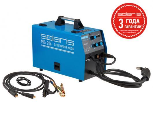 Полуавтомат SOLARIS MIG 206 (MIG/MMA)