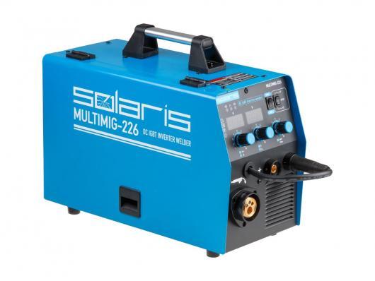 Полуавтомат SOLARIS MULTIMIG 226 (MIG/MMA)