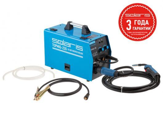 Полуавтомат SOLARIS TOPMIG 226 (MIG/MAG/FLUX) (горелка 3 метра)