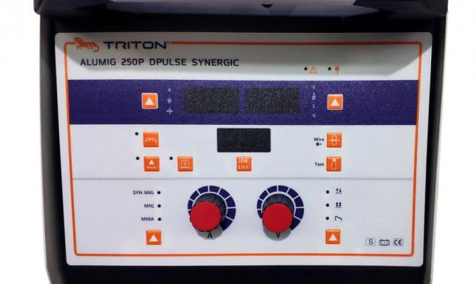Полуавтомат TRITON ALUMIG 250P Dpulse Synergic 380V
