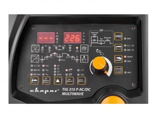 Инвертор аргоно-дуговой Сварог PRO TIG 315 P AC/DC MULTIWAVE (E202)