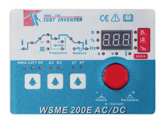Инвертор аргонодуговой GROVERS WSME 200E AC/DC