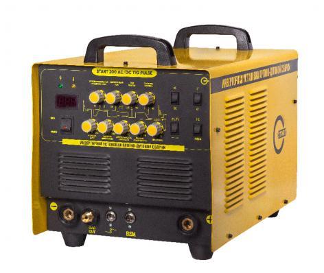Инвертор аргонодуговой START TIG 200 AC/DC PULSE